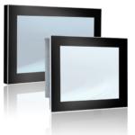 monitor industrial open frame montaje armario