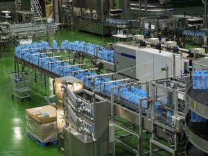 Cadena de producción de planta embotelladora de agua mineral