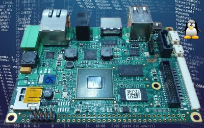 Single Board Computer in PicoITX form factor with NXP i.MX6 CPU